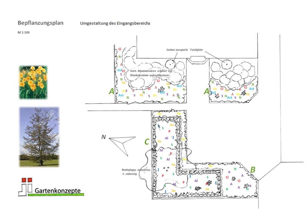 JI-Gartenkonzepte Pflanzplan